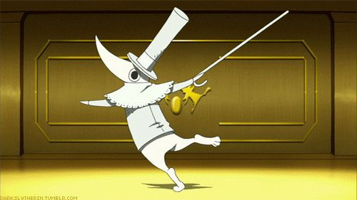 """Excalibur - Soul Eater """"Baka!!! My story starts in the 12th century..... I need tea at 4 every day....."""""""
