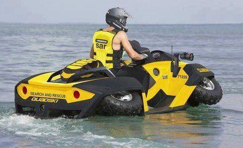 ATV/Jet ski Living by the lake, this makes perfect sense!