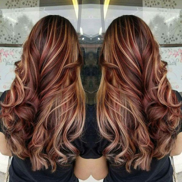 11 Best Dark Brown Hair With Blonde Highlights Hair Fabulous