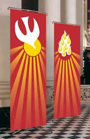 Banners for Pentecost More