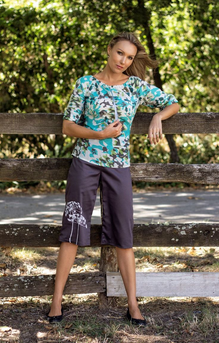 Clear Skies Top and Greylin Reversible Shorts