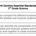 """Never write another Essential Question again!  This set of cards includes an 'I Can"""" statement on the front along with the North Carolina Science E..."""