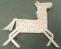 Plaited Reindeer, Horse & Giraffe, Etc. Pattern - by Wagner