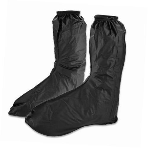 Protector-de-calzado-moto-para-Hombre-Impermeable-Para-lluvia-Botas-Zapatos-Cubierta-de-larga-con