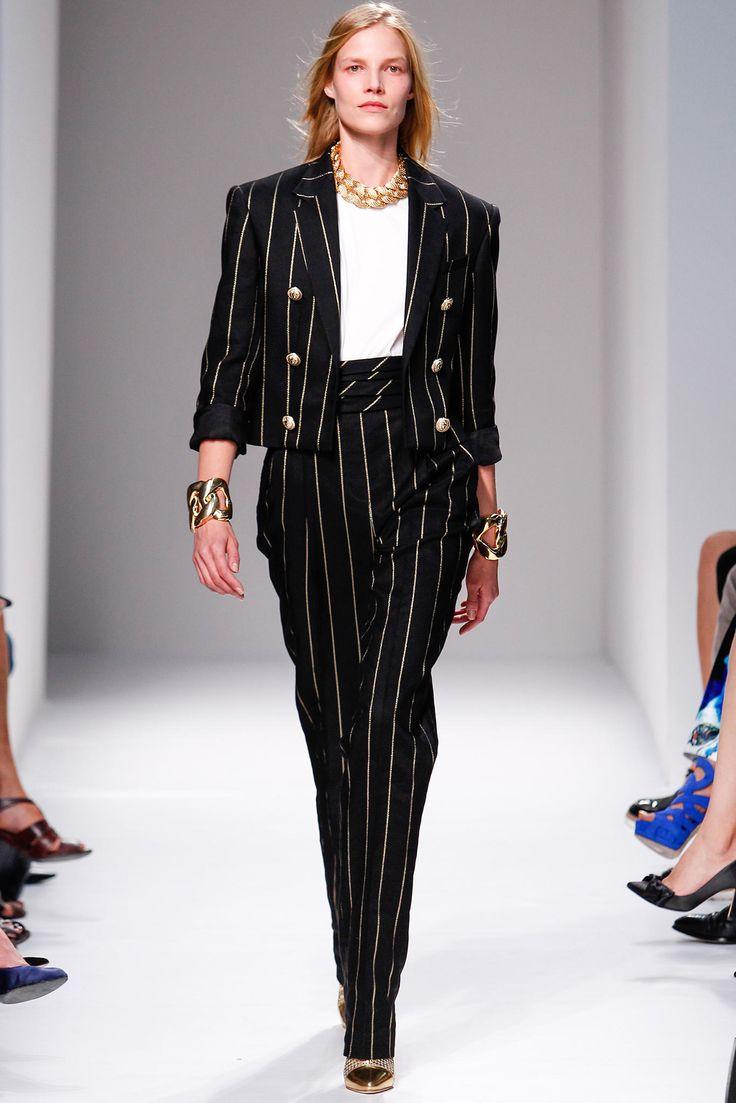 Balmain Spring 2014 Ready-to-Wear Fashion Show - Suvi Koponen (Next)