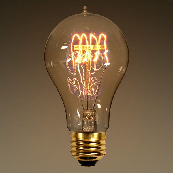 Inspirational  Watt Victorian Bulb in Length