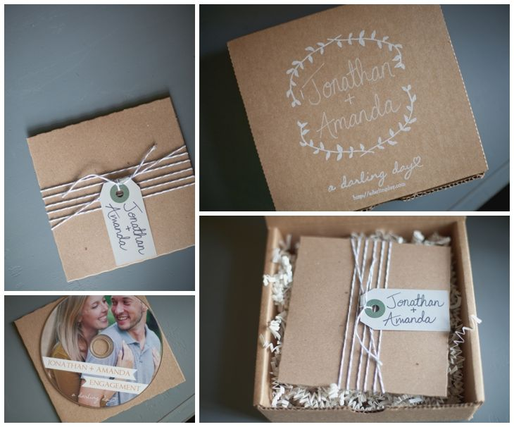 Pretty Little Packaging :: Client Photo Packaging :: Laura Winslow Photography