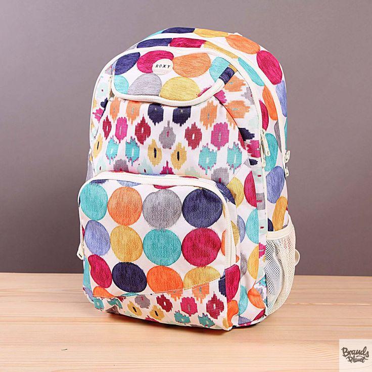 Plecak szkolny lub na wycieczkę Roxy Shadow Swell Acapulco Dots  / www.brandsplanet.pl / #roxy