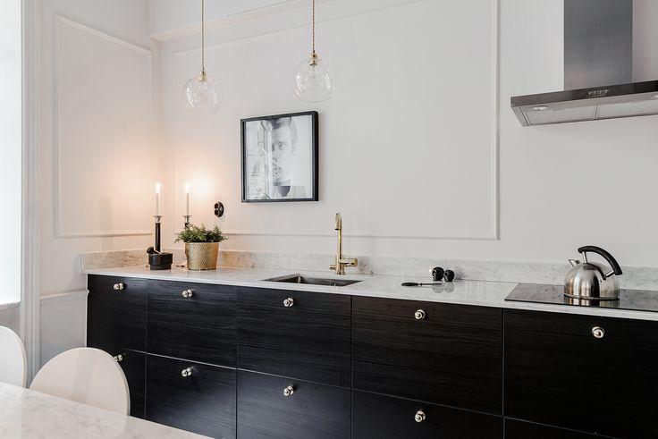 Interior kitchen marble