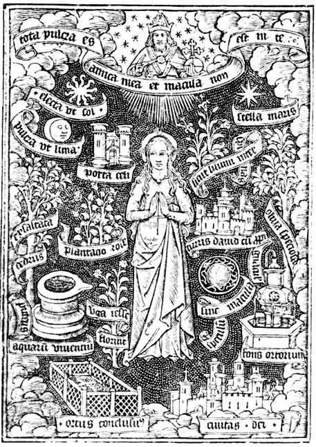 Symbola Mariae : Litanie Loreto