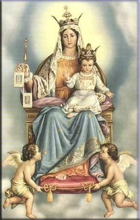 ♕ Our Lady of Mount Carmel