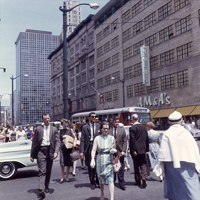76 Best Images About Historic Downtown Storefronts On: AM & A's Department Store In Downtown Buffalo, NY 1960s