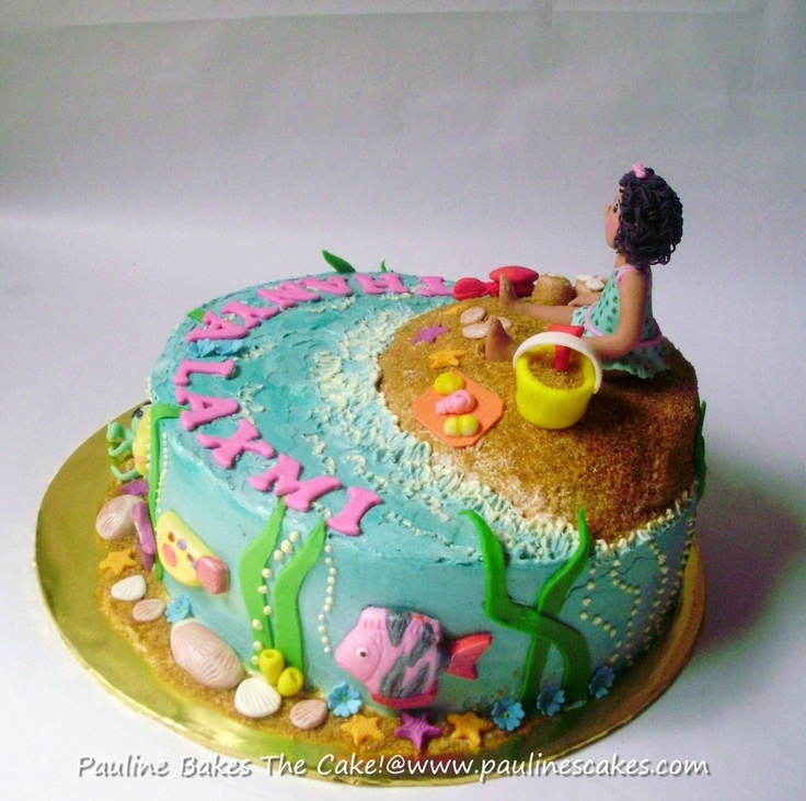 buttercream cake recipe wants a arial cake with fish on it so im going to 2158