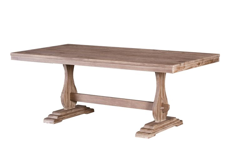 The Precia Dining Table - Driftwood from LH Imports is a unique home decor item. LH Imports Site carries a variety of Precia items.