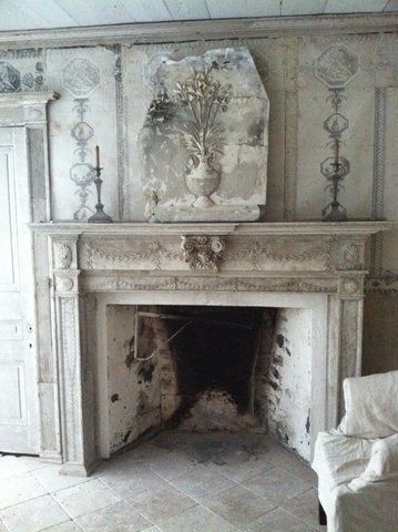 171 best images about fireplaces mantels on pinterest for Grey stone fireplace surrounds