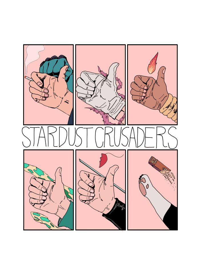 Jojo's Bizarre Adventure : Stardust Crusaders