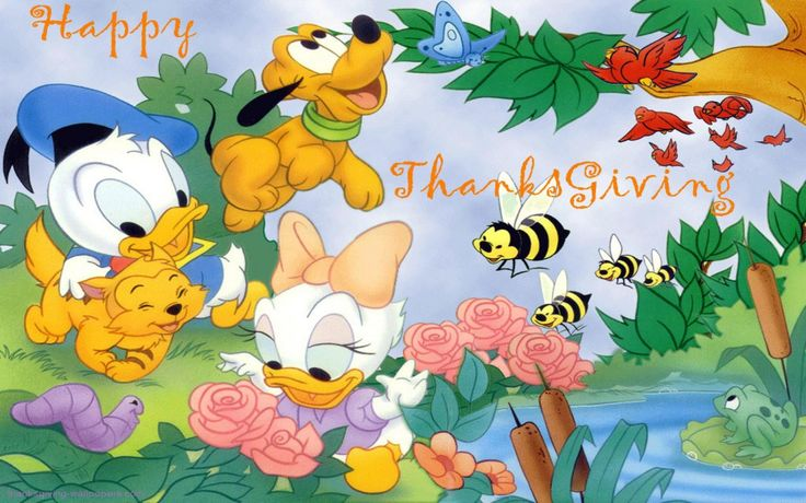 disney thanksgiving background hd