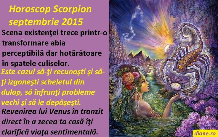 Horoscop Scorpion septembrie 2015