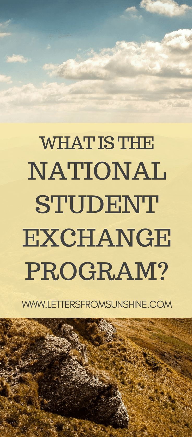 What is the National Student Exchange program?   Ever want to study at an out-of-state college for a cheaper price? Learn about the National Student Exchange program, which allows students to do just that.