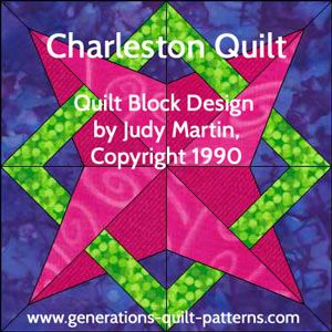 """Learn how to make this Nell's Star quilt block pattern. Free downloadable paper piecing patterns in 8"""" and 12"""" sizes.This is a cool block!"""
