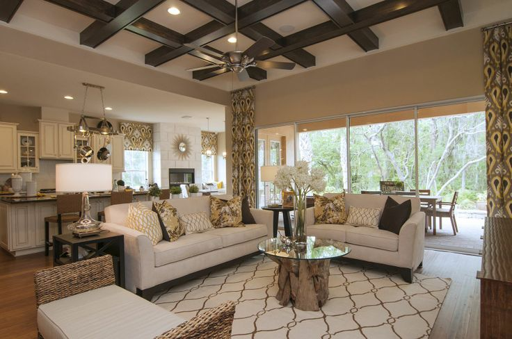 Gorgeous Great Room 1 - Contemporary - Living room - Images by Masterpiece Interiors, Inc. | Wayfair