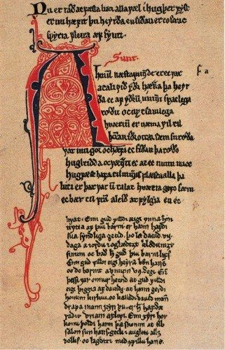 The Vikings spoke a language called 'Old Norse', which today is an extinct language. Old Norse and Old English were in many ways similar since they belonged to the same language family, Germanic. Therefore, the Old Norse constituents integrated with ease into Old English. These borrowings went undetected for centuries but remain in the language up to the present-day.