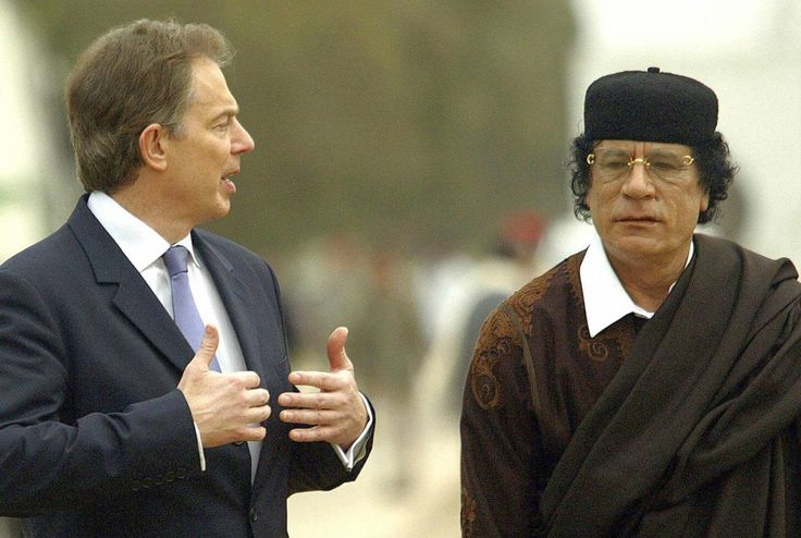 """Top News: """"UK: Muammar Gaddafi Accused Tony Blair Of Supporting al-Qaeda"""" - http://www.politicoscope.com/wp-content/uploads/2016/01/Libya-Top-Headline-News-Tony-Blair-and-Muammar-Gaddafi.jpg - Libyan leader Muammar Gaddafi said. """"If you are really serious and you are looking for the truth, get on a plane and come and see us."""" on Politicoscope - http://www.politicoscope.com/uk-muammar-gaddafi-accused-tony-blair-of-supporting-al-qaeda/."""