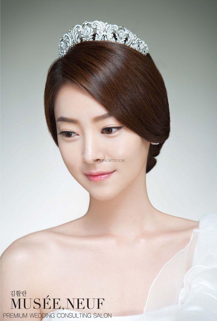 50 best 韓國新娘髮型 images on pinterest   makeup samples, bridal