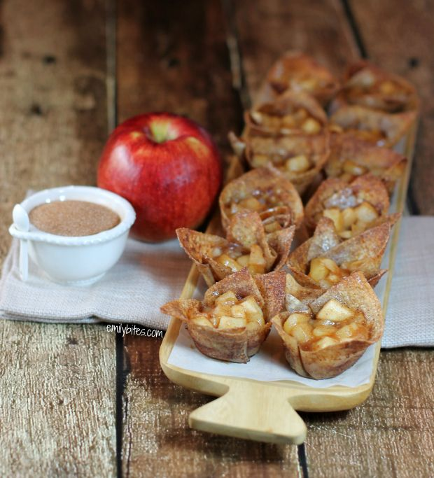 If you crave a lighter way to get the flavors of hot apple pie, these Mini Cinnamon Apple Tarts are for you! Just 45 calories or 1 Weight Watchers point!