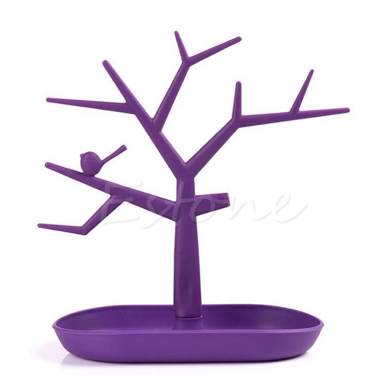 New Display Organizer Holder Show Rack Jewelry Necklace Ring Earring Tree Stand >>> Uznayte bol'she, posetiv ssylku na izobrazheniye.