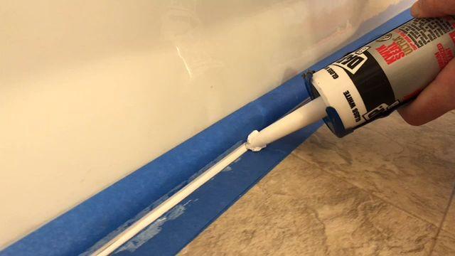 Bathroom Renovation: Replacing Old Caulk Around Your ...