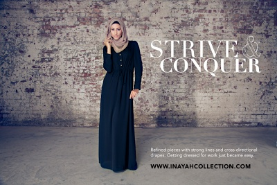 Check out Abayas fashion at Inayah