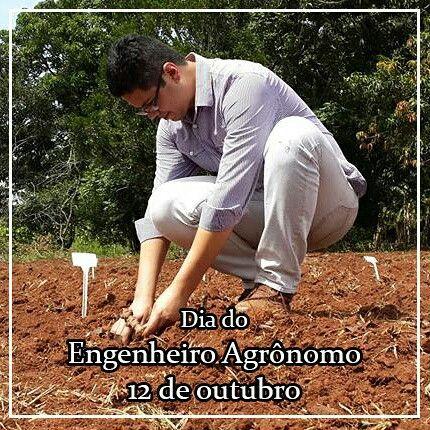 Hoje é o nosso dia! Dia nacional do Engenheiro Agrônomo! Trabalhamos pela Segurança Alimentar e Nutricional da sociedade. Somos a engrenagem que possibilita ao agricultor produzir mais e melhor! Temos o desafio de levar à mesa de milhões de brasileiros alimentos saudáveis e produzidos de forma sustentável. Parabêns a todos os colegas Engeheiros(as) Agrônomos(as)! #agronomia #agronomo #engenharia #agricultura #alimento #produtividade #segurancaalimentar #sustentabilidade