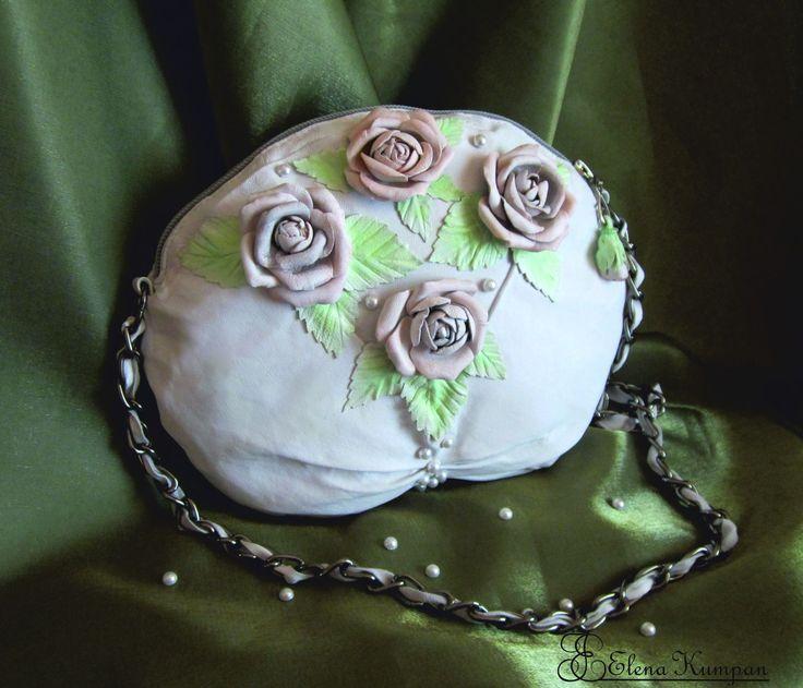 сумка ручной работы из натуральной кожи