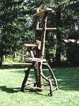 Rustic Natural Cat Tree Furniture