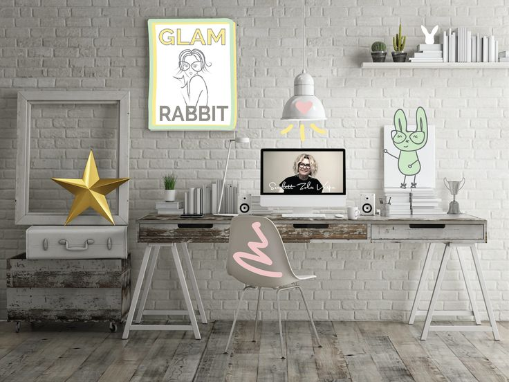 The Glam Rabbits office #inspirational #blogger #womens #fashion #selflove #styletips #style