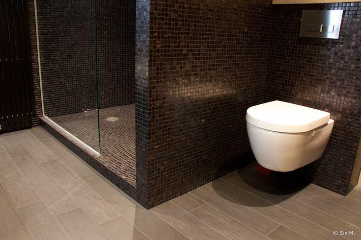 WC naast douche?