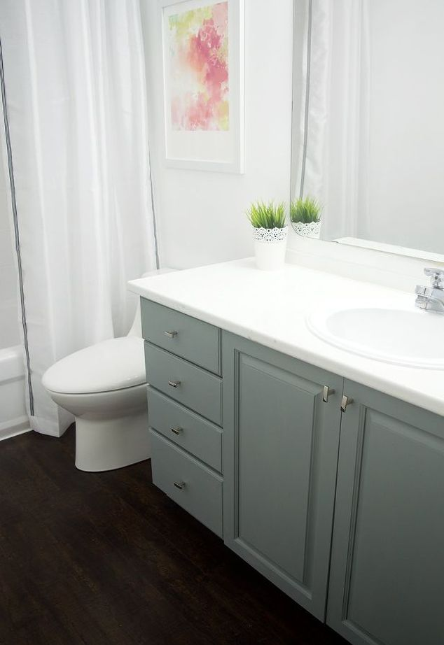 how to paint bathroom cabinets, bathroom ideas, how to, painting