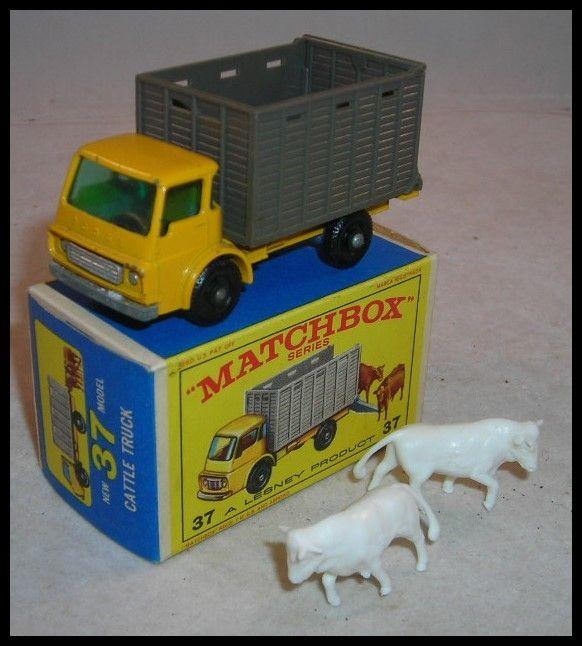 Matchbox Cattle Truck.  I still have this truck.