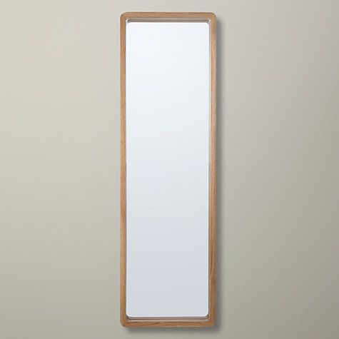 House by John Lewis Rounded Corner Mirror 140 x 40cm £100