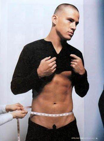 Channing Tatum....need I say more?
