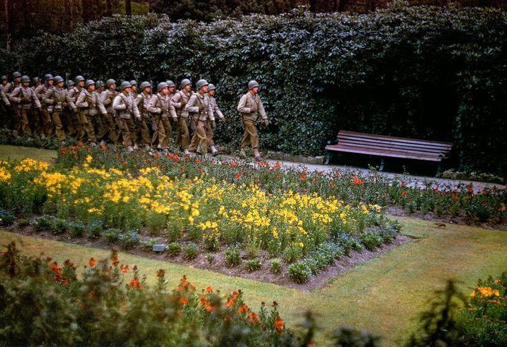 Prima e dopo il D-Day: Fotografie a colori dall'Inghilterra e dalla Francia - WWII - Seconda Guerra Mondiale