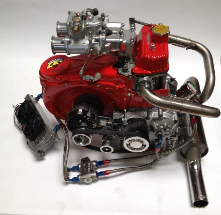 Cannot beleive a 2 cylinder engine can look this good!!