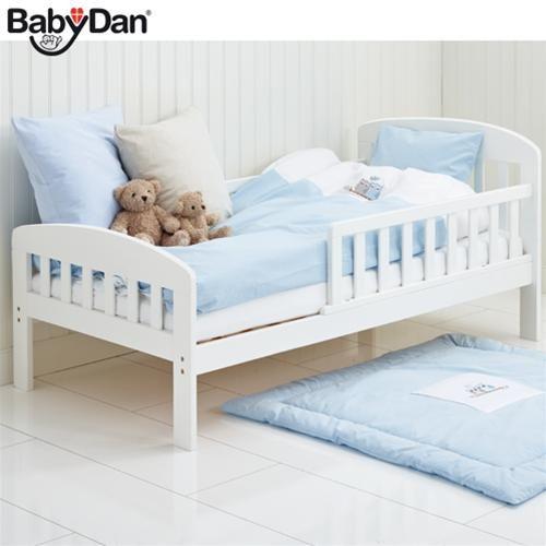 BabyDan Alfred Juniorseng 70x160 cm, hvit