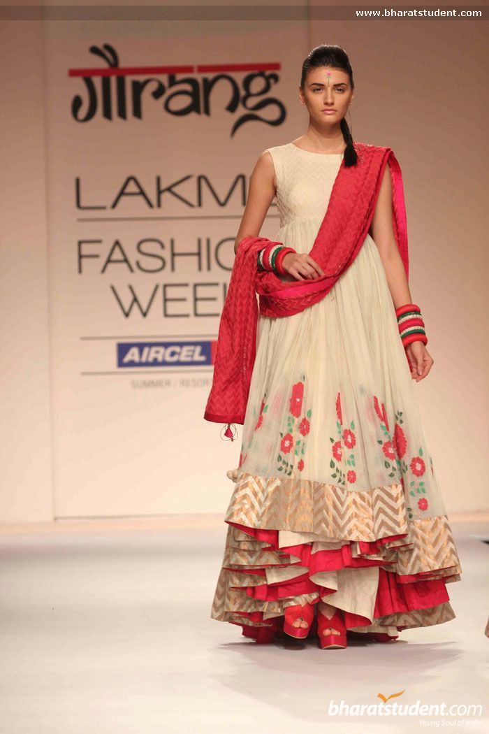 Gaurang Shah's Show at Lakme Fashion Week Summer/Resort 2013
