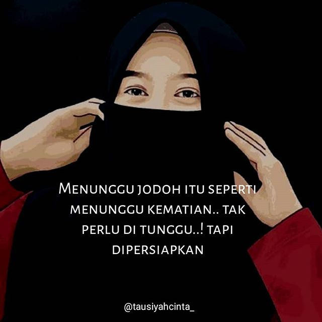 Menunggu jodoh itu seperti menunggu kematian.. tak perlu di tunggu! Tapi dipersiapkan . . . Follow @catatancintamuslimah Follow @catatancintamuslimah . . https://ift.tt/2f12zSN