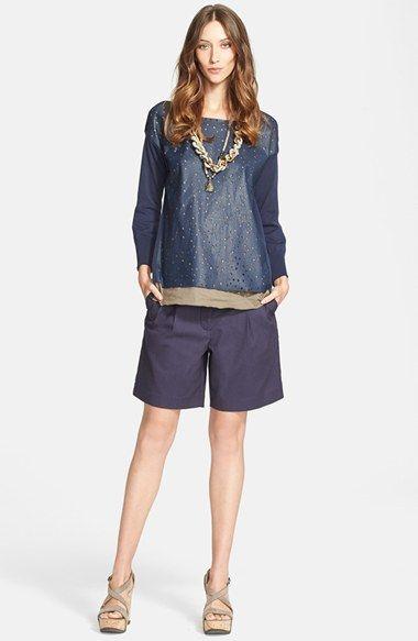 Fabiana Filippi Top & Shorts  available at #Nordstrom