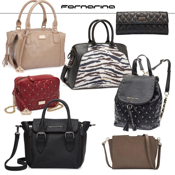 Fornarina Bags Collection - FW14-15 #myfornarina #accessories #bag #fashion #fornarina