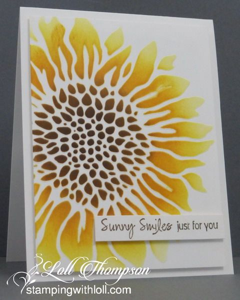 Stamping with Loll: Sponged Stenciling and More