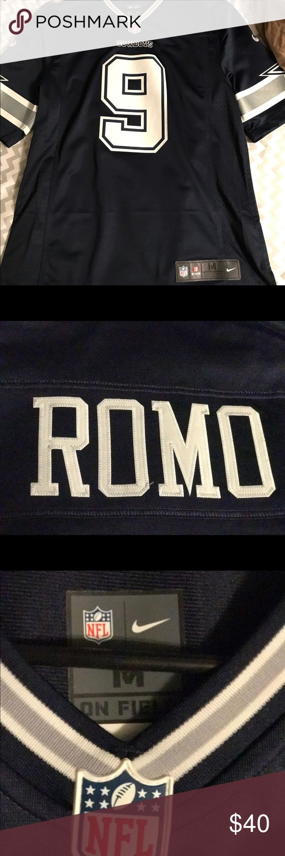 Nike Limited Tony Romo stitched jersey This is a Nike Limited stitched jersey of Tony Romo, awesome looking jersey and great quality. Men's size medium. Only worn a few times on sundays for the games with no sign of wear and stored in a smoke free home. Ordered directly from NFL shop Nike Other